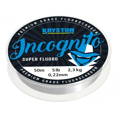 Kryston fluorocarbony - Incognito fluorocarbon 0,38mm 15lb 20m