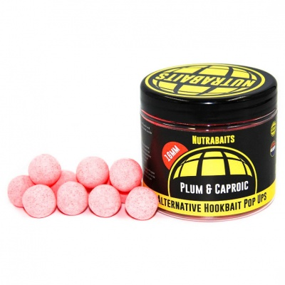 Nutrabaits pop-up - Plum & Caproic 16mm